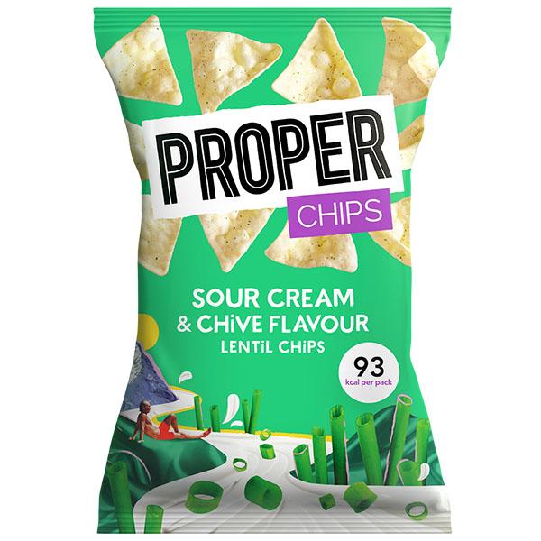 Properchips - Sour Cream & Chive - 24x20g