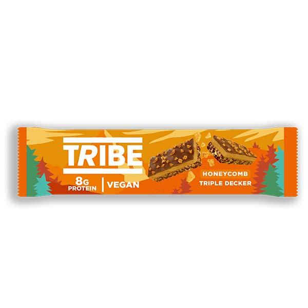 Tribe - Triple Decker Vegan Honeycomb - 12x40g
