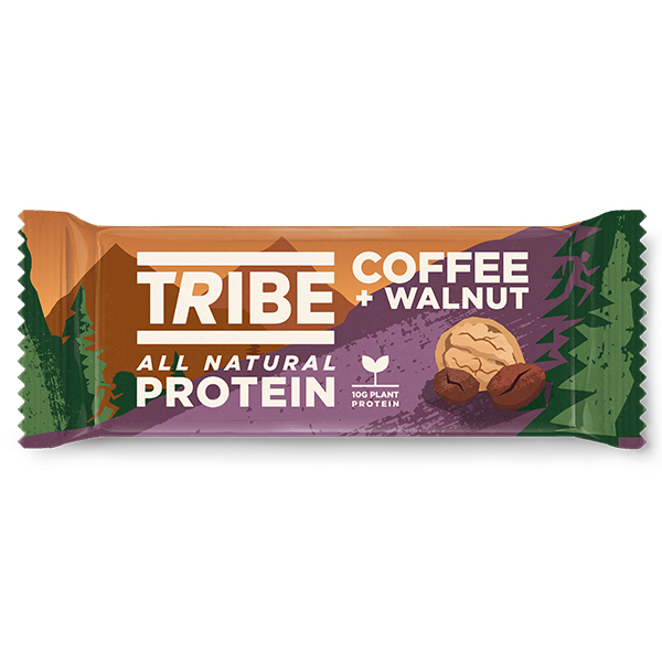 Tribe - Vegan Protein - Coffee & Walnut - 16x50g
