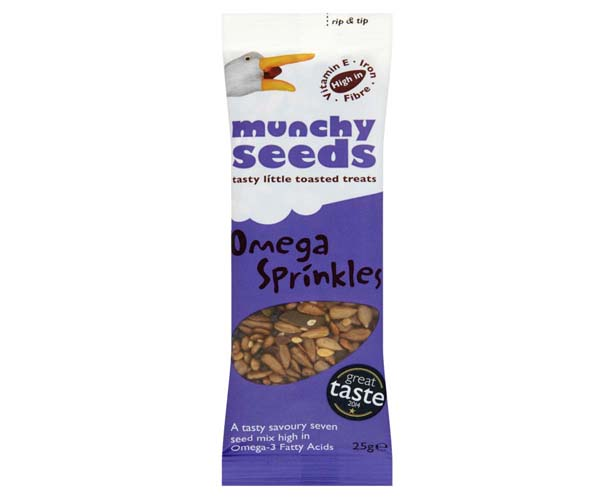Munchy Seeds - Omega Sprinkles - 12x25g