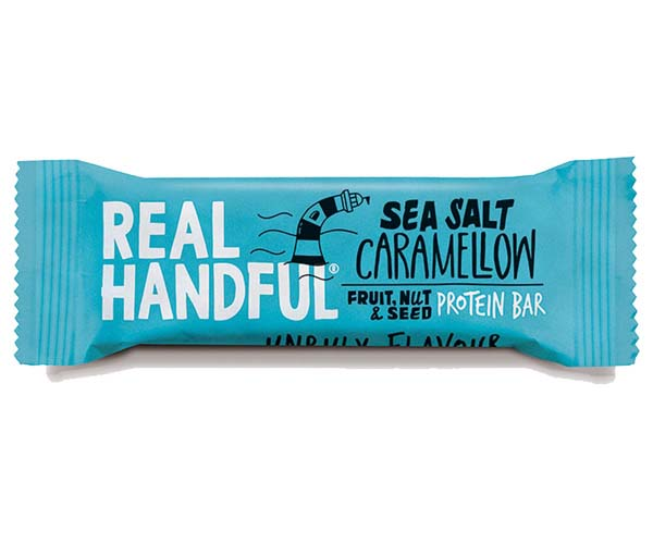 Real Handful - Sea Salt Caramellow Protein Trail Bar -20x40g