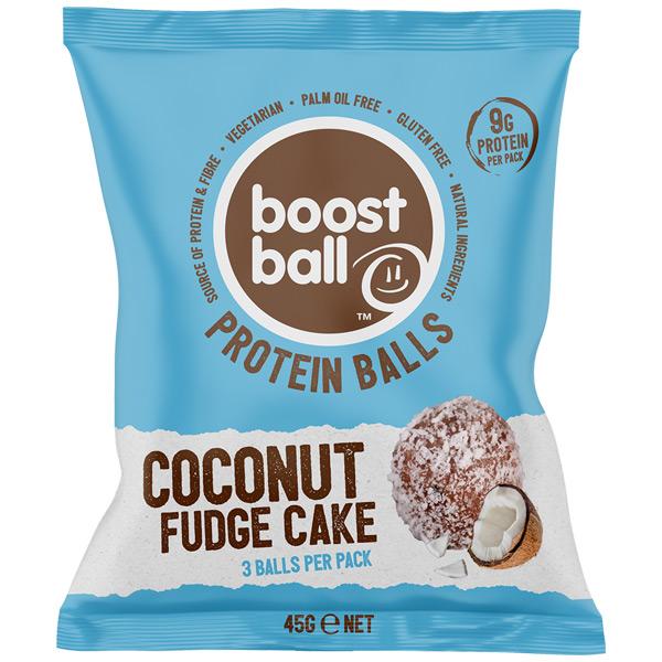 Boost Ball - Coconut Fudge Cake - 12x42G