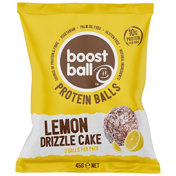 Boost Ball - Lemon Drizzle Cake - 12x42G