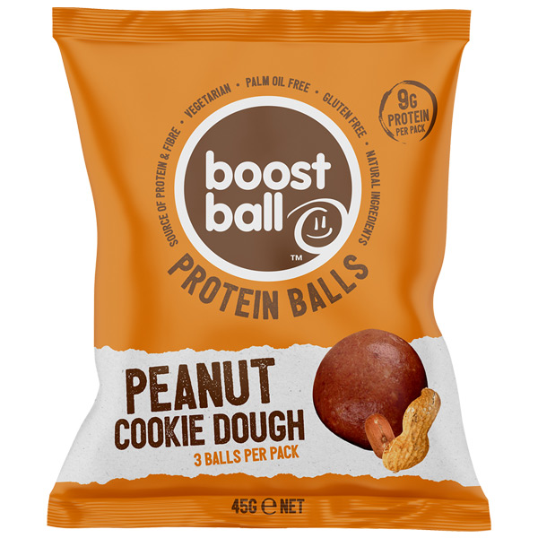 Boost Ball - Peanut Butter Cookie Dough - 12x42G
