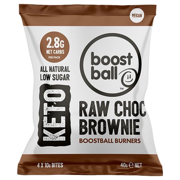 Boost Ball - Raw Chocolate Brownie Keto -12x40g