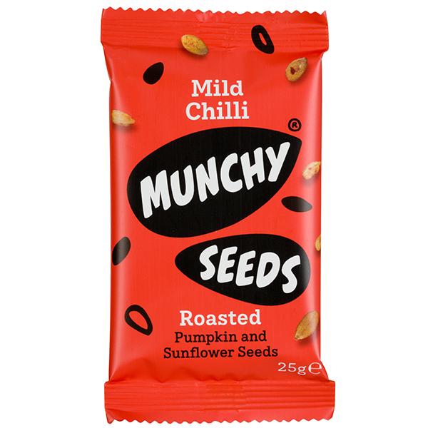 Munchy Seeds - Mild Chilli - 12x25g