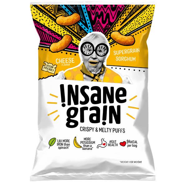 Insane Grain - Cheese (Vegan) - 16x24g