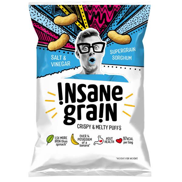 Insane Grain - Salt & Vinegar - 16x24g