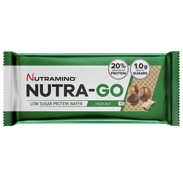 Nutramino - Nutra-Go - Protein Wafer - Hazelnut - 12x39g