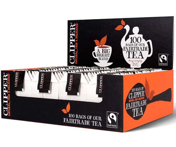 Clipper S&T - Fairtrade Everyday Black Tea - 6x100