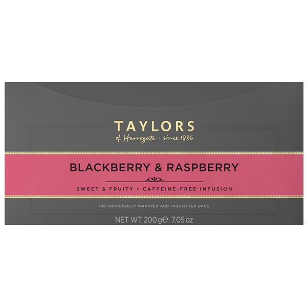 Taylors Tea - B/Berry & Raspberry (Bags) - 1x100