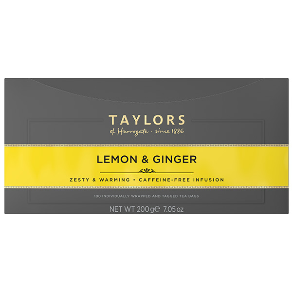 Taylors Tea - Lemon & Ginger (Bags) - 1x100