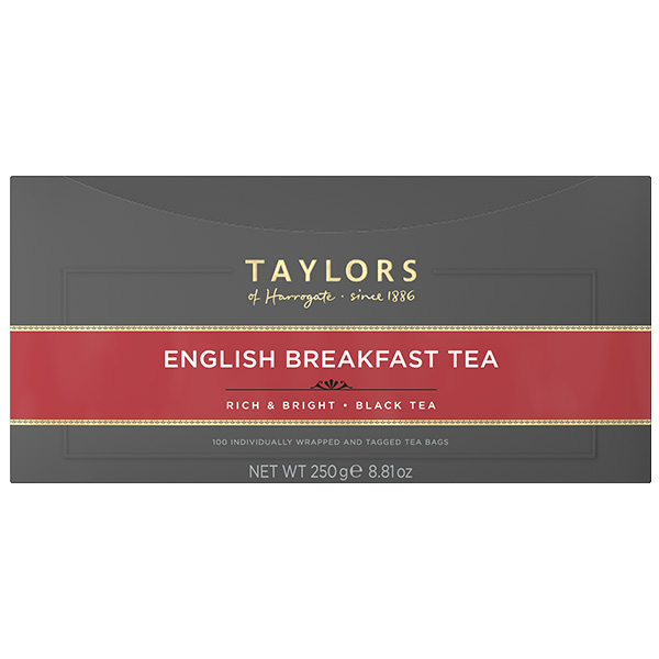 Taylors Tea - English Breakfast (Bags) - 1x100