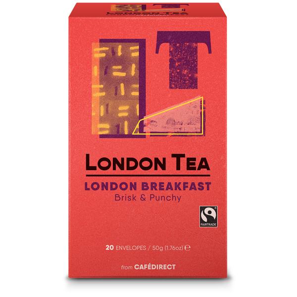 London Tea Enveloped - 20's - London Breakfast - 6x20