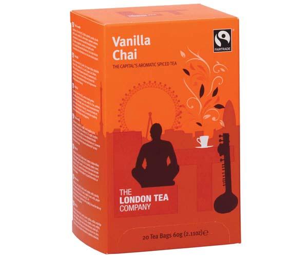 London Tea Enveloped - 20's - Vanilla Chai - 6x20