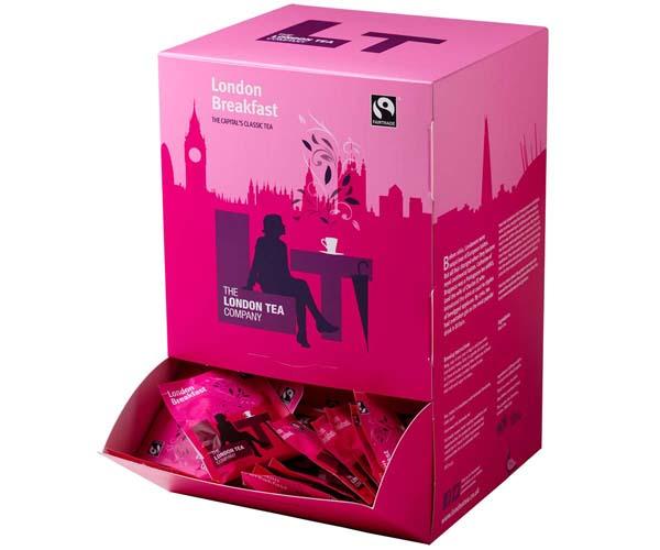 London Tea Enveloped - 250's - London Breakfast - 4x250