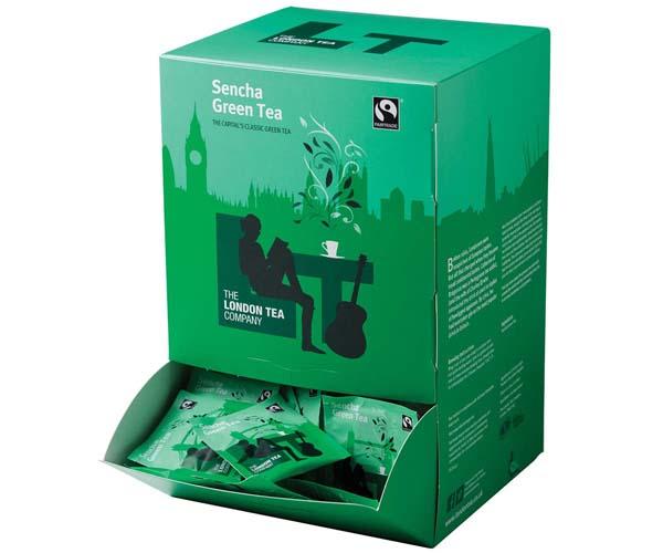 London Tea Company - 250 - Pure Green Tea - E,S&T - 4x250