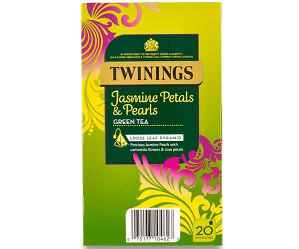 Twinings Enveloped - 216 Pyramid - Jasmine Bloom - 4x20