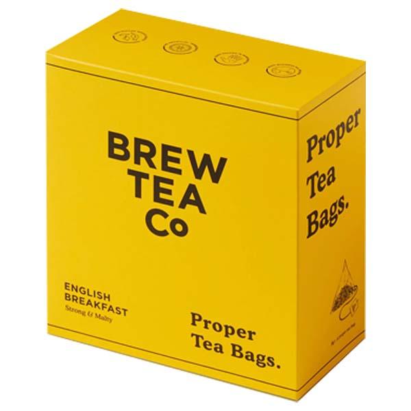 Brew Tea S&T - English Breakfast - 1x100 Black Bag