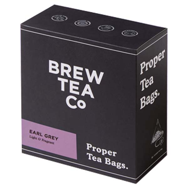 Brew Tea S&T - Earl Grey - 1x100 Black Bag