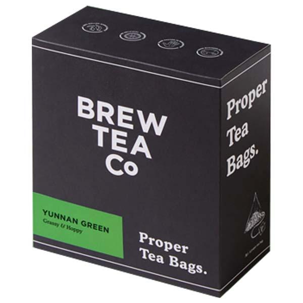 Brew Tea S&T - Green Tea - 1x100 Black Bag
