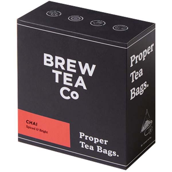 Brew Tea S&T - Chai Tea - 1x100 Black Bag