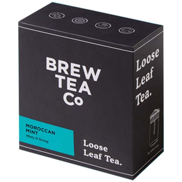 Brew Tea Loose Leaf - Moroccan Mint - 1x400g