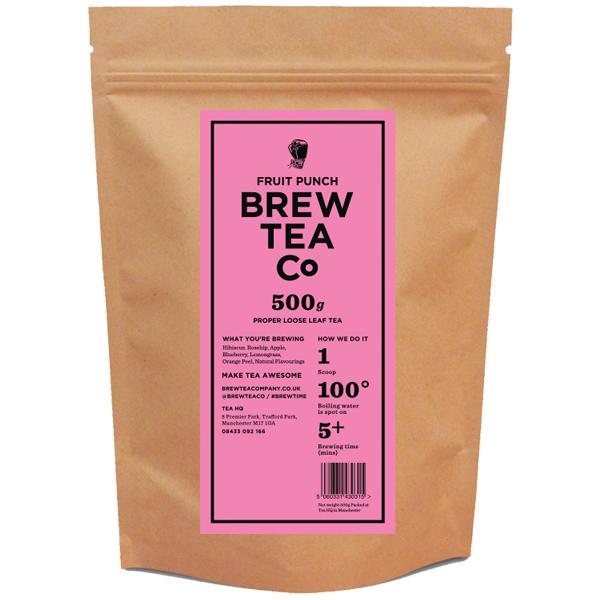 Brew Tea Loose Leaf - Fruit Punch - 1x500g