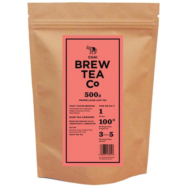 Brew Tea Loose Leaf - Chai Tea - 1x500g