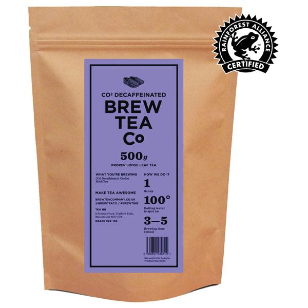 Brew Tea Loose Leaf - Co2 Decaffeinated - 1x500g