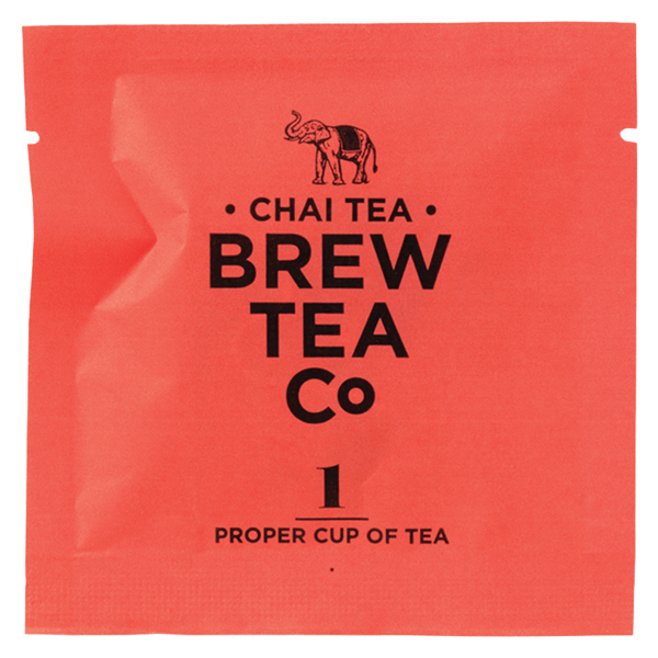 Brew Tea Enveloped - Chai Tea - 1x100 Box