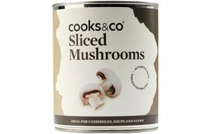 Tinned Sliced Mushrooms - 6x800g