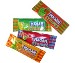 Maoam Stripes Chews 1x120 Tub