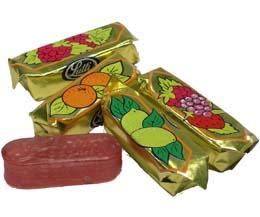 Fruit Bon Bons (Gold Foil Bag)  x3kg Bag