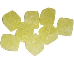 Pineapple Cubes x3kg Bag