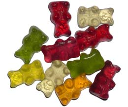 Sugar Free Teddy Bears 1x1kg Bag
