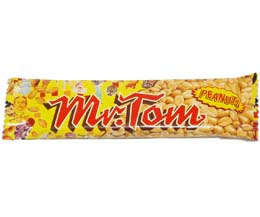 Mr Tom Peanut Brittle Bar 36x40g