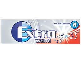 Wrigleys Extra Gum - White Ice - Silver - 30x14G