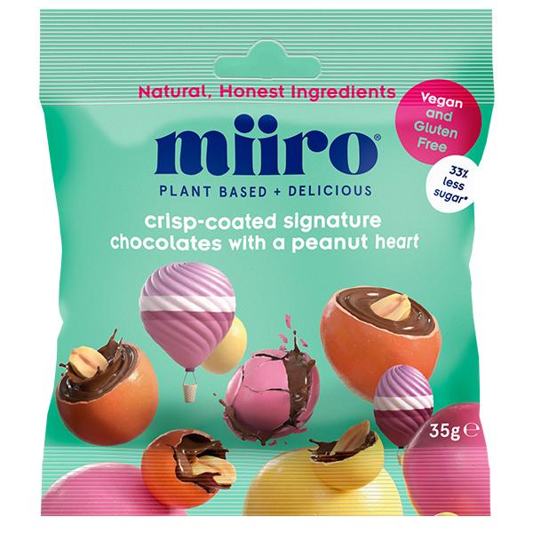 Miiro - Crisp Coated Signature Chocolate With Peanut Heart - 12x35g