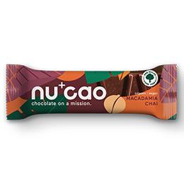 Nucao - Macadama Chai - 12x40g