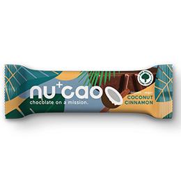 Nucao - Coconut Cinnamon - 12x40g