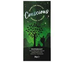 Conscious Chocolate - Peppermint - 10x30g