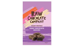 The Raw Chocolate Co - Chocolate Raisins - 12x28g
