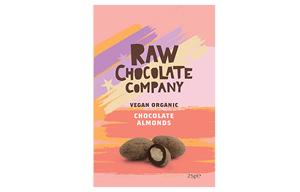The Raw Chocolate Co - Chocolate Almonds - 12x25g