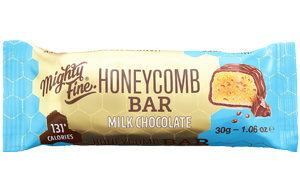Mighty Fine Honeycomb Bar - Milk Chocolate - 15x30g
