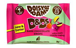 Doisy & Dam - Dark Chocolate D&D's - 18x30g