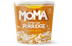 Moma Porridge - Golden Syrup - 12x70g