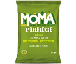 Moma Porridge Sachets - Plain No Sugar - 2x15x65g