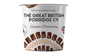 The Great British Porridge Co - Classic Chocolate - 8x60g