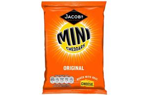 Mini Cheddars - Original - Grab Bag - 30x50gm
